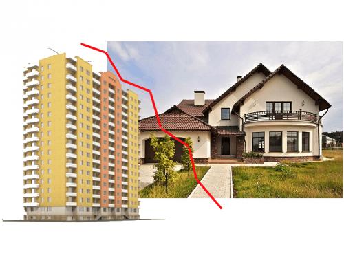 Преимущества квартиры и частного дома